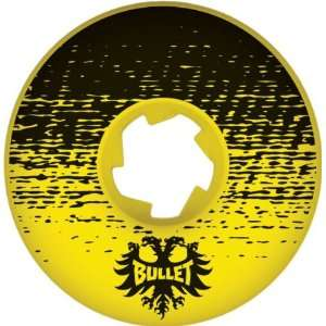 Bullet Shade 52mm Yellow Black Ppp Skate Wheels: Sports