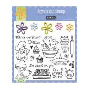 Whats the Scoop Clear Unmounted Rubber Stamp Set (CL346