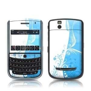 Blue Crush Design Skin Decal Sticker for Blackberry Tour 9630 Cell