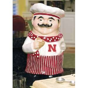 Nebraska Cornhuskers Ceramic Cookie Jar