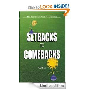 Setbacks to Comebacks Nishit Lal  Kindle Store