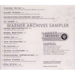 Warner Archives Sampler Various Artists Music
