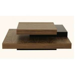 Tema Slate Square Coffee Table: Furniture & Decor
