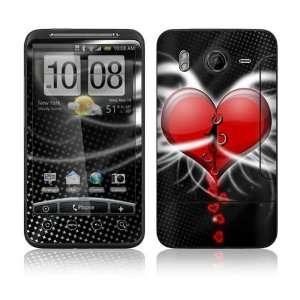 Devil Heart Decorative Skin Cover Decal Sticker for HTC Desire