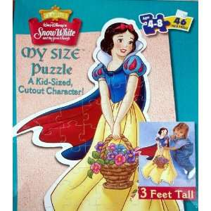 Disney Classics Snow White My Size Puzzle   46 Piece Kid