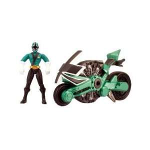Power Ranger Samurai Power Rangers Samurai Disc Cycle Forest  Toys