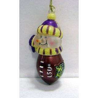 LSU Tigers NCAA License Plate Christmas Ornament  Sports
