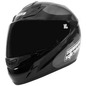 Speed & Strength SS1000 Full Face Motorcycle Helmet Charcoal/Black