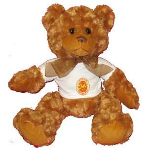 My Polo World ITS MY LIFE GET USED TO IT Plush Teddy Bear