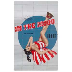 In The Mood United States Army Metal Sign