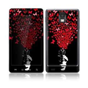 Samsung Infuse 4G Decal Skin Sticker   The Love Gun Everything Else