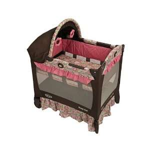 Graco Travel Lite Crib, Jacqueline: Baby