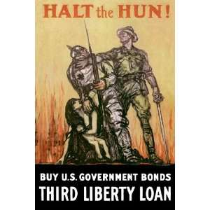 Halt the Hun! by Unknown 12x18  Kitchen & Dining