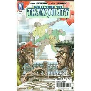 Welcome to Tranquility #3 Gail Simone Books