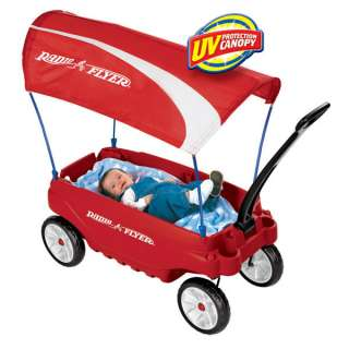 Even infants can enjoy riding in the Ultimate Family Wagon. View