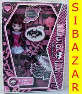 draculaura monster high first version series doll muneca poupèe dolls