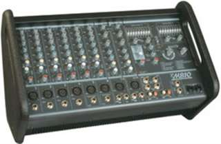 Mixer/Amp   2x 400 Watt, 10 Inputs and more Powered Box/PA Mixers