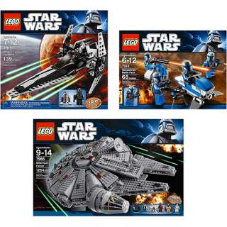 LEGO Star Wars Building Set 3 Pack Bundle Building Blocks & Sets