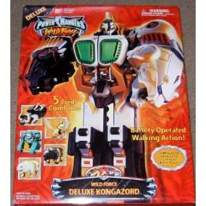 Wild Force Deluxe Kongazord Electronic Action Figure Toys & Games
