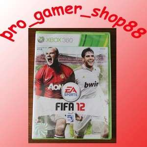 NEW XBOX 360 FIFA 12 IN STOCK *ENG VERSION (WORK ON PAL CONSOLE) *A