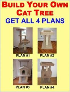 Cat Tree Plans Make 6 Furniture Condo Plan Instruction