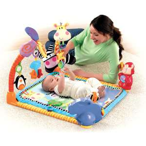 Fisher Price Open Top Musical Discovery Gym, Baby Play Mats, Musical