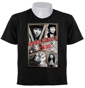 MINAJ Onika Tanya Maraj COLLAGE 2011 2012 TOUR hip hop POP T SHIRTS