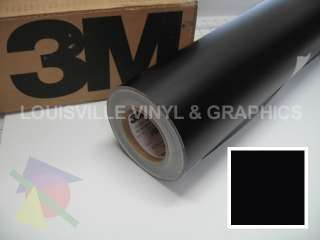 Roll 24 X 48 Black Matte 3M ScotchCal Graphic & Sign Cutting Vinyl