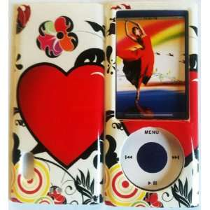 Apple Ipod Nano 5th Generation Love Design Protector Cover