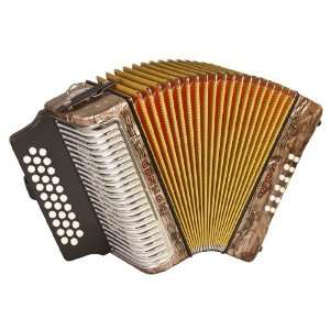 Hohner Accordions 3500GBR 43 Key Accordion: Musical