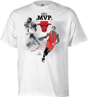 Derrick Rose MVP Adidas Shirt Chicago Bulls Adult sz.xl