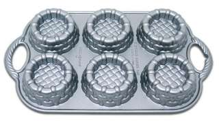 NORDIC WARE 54348 STRAWBERRY SHORTCAKE BASKET CAKE PAN
