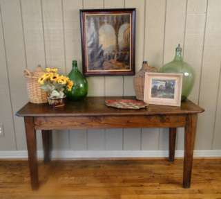 Antique French Country Provencal TABLE~Sofa~Desk~Flat Screen TV