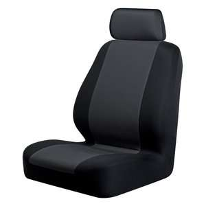Auto Expressions Braxton Bucket Seat Cover, Black
