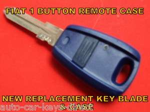 FIAT 1 BUTTON CAR VAN REMOTE CONTROL ALARM KEY FOB NEW CASE PUNTO