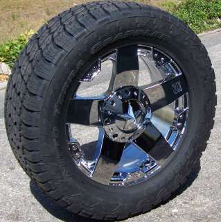 XD WHEELS NITTO TERRA GRAPPLER TIRES 8 LUG CHEVY FORD DODGE GMC 2500
