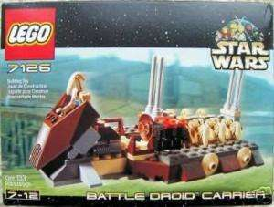 Lego Star Wars #7126 Battle Droid Carrier New MISB