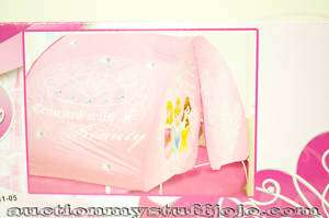 New Disney Princess Cinderella Bed Tent Crowned Beauty
