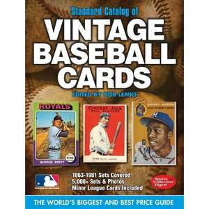 Catalog of Vintage Baseball Cards, Lemke, Bob Home, Hobbies & Garden