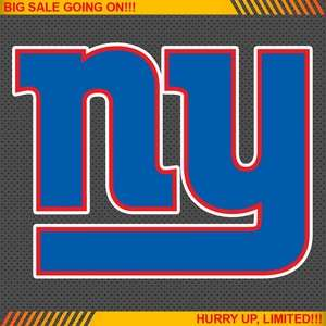 York Giants NFL Football Logo Car Bumper Window Wall Sticker