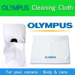 OLYMPUS Microfiber Cleaning Cloth for Camera Lens