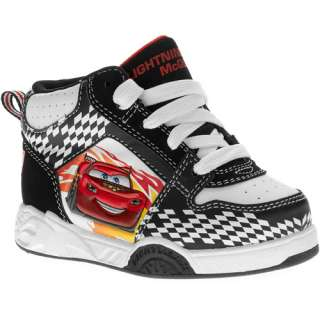 Disney   Toddler Boys Cars High Top Sneakers Shoes