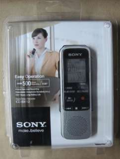 Sony ICDBX112 2GB 500+ Hours Digital Voice Recorder 027242814073