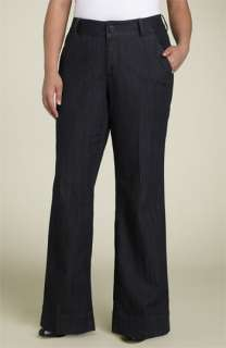 Jag Jeans Louisa Stretch Denim Trousers (Plus)