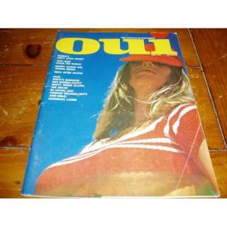 Oui Magazine June 1973 Issue: Hugh Hefner