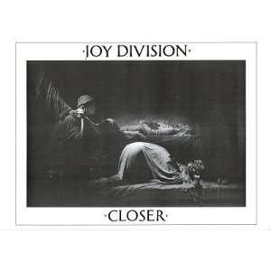 (24x33) Joy Division Closer Music Poster Ian Curtis