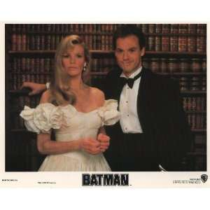 Batman   Kim Basinger   Michael Keaton   Movie Poster