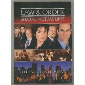 Victims Unit. The Second Year. Disc One Mariska Hargitay Movies & TV