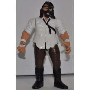 Mankind Mick Foley Jakks 1998 WWE WWF Wrestler Action Figure Titan