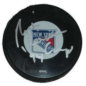 Mike Keenan Signed New York Rangers Hockey Puck 94 Cup